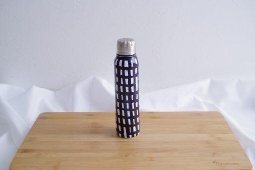 minaperhonen Umbrella Bottle sora check/navy