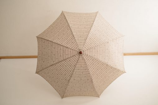 イイダ傘店×KIYATA 木彫 日傘